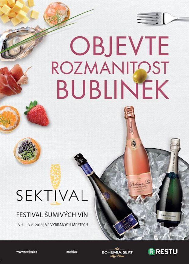 Klíčový vizuál k letošnímu ročníku Sektivalu, zdroj: Bohemia Sekt