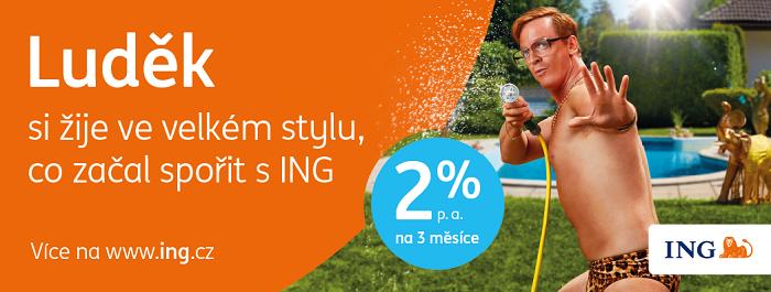 Klíčový vizuál kampaně ING Bank, zdroj: ING Bank