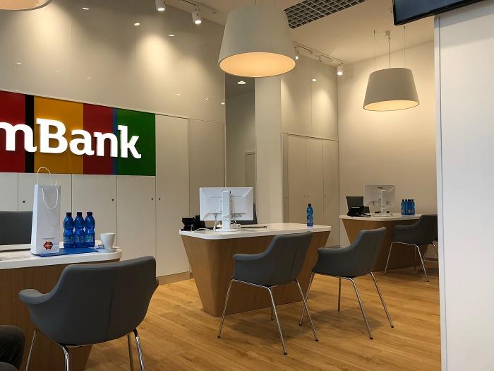 Otevřená obslužná zóna na pobočce mBank, foto: MediaGuru.cz