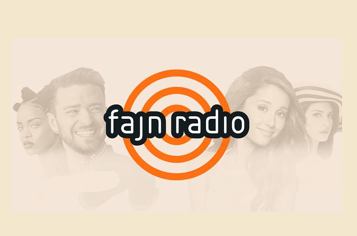 Logo Fajn rádio
