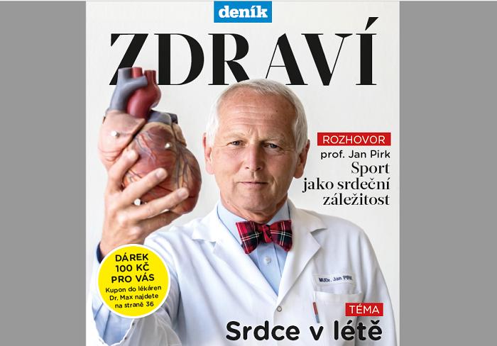 Titulní strana Deník Zdraví, zdroj: VLM