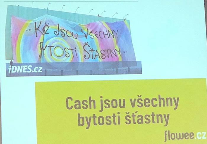 Reklama portálu Flowee se inspirovala mantrou, foto: MediaGuru.cz