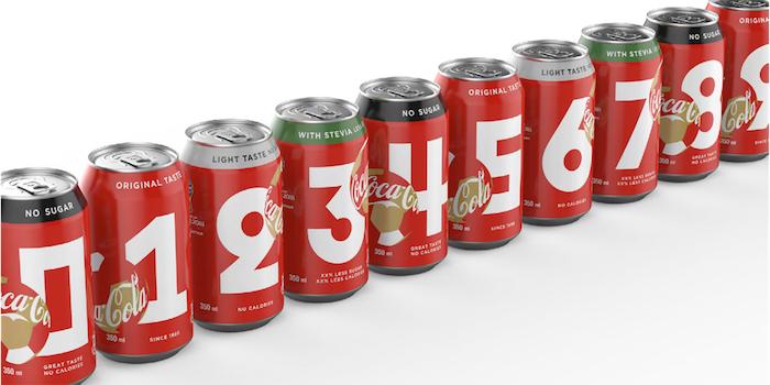 Coca-Cola si na letošní Mistrovství světa ve fotbale připravila limitovanou edici plechovek, zdroj: Coca-Cola.