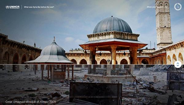 Ukázka z multimediálního projektu Searching for Syria