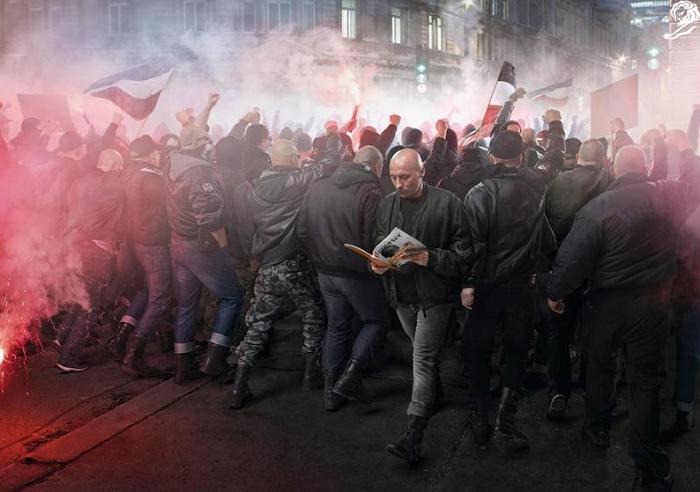 Reportér - Questioning Neo-nazism od agentury Y&R Prague, zdroj: Cannes Lions