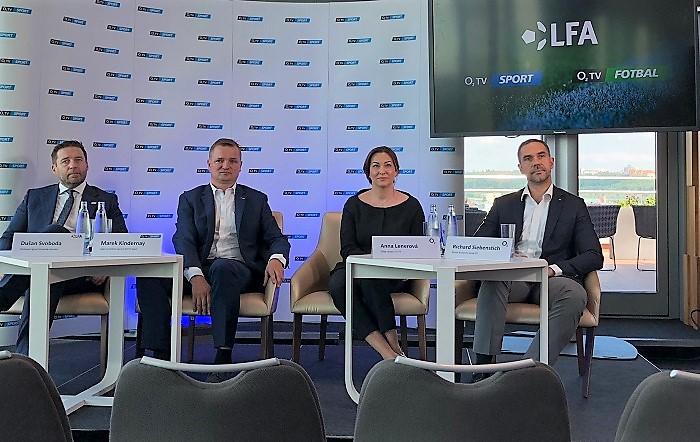 Tisková konference O2 TV, foto: MediaGuru.cz