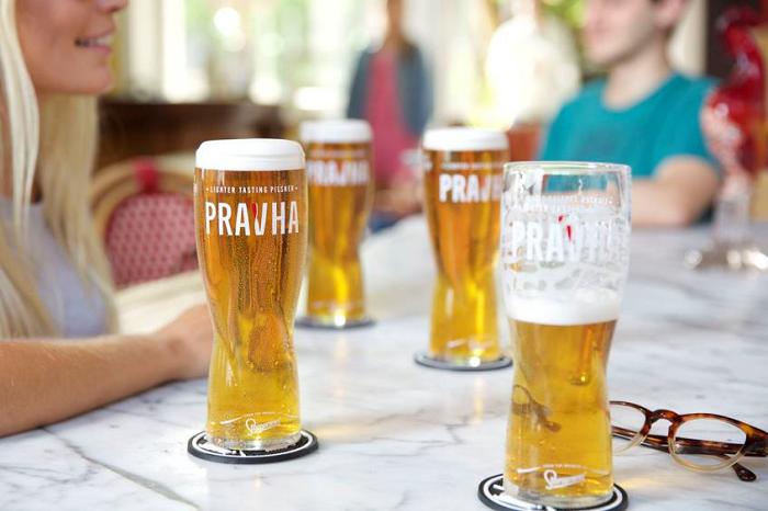 Staropramen na britském trhu uvedl desítku Pravha. Zvolil název, který se Britům dobře vyslovuje, zdroj: Pivovary Staropramen.