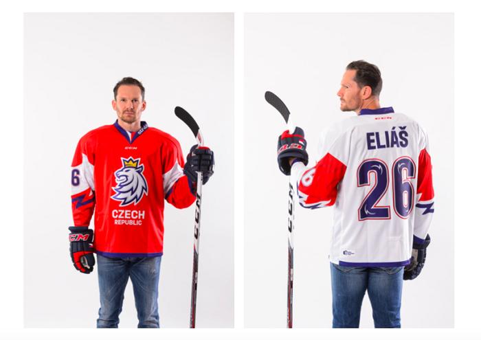 Nový hokejový dres, zdroj: Český hokej