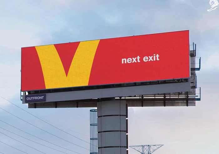 Grand Prix za outdoorovou reklamu McDonald's pro torontskou agenturu Cossette, zdroj: Cannes Lions