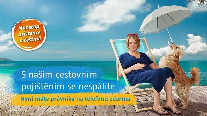 Klíčový vizuál ČSOB k cestovnímu pojištění, zdroj: FB ČSOB