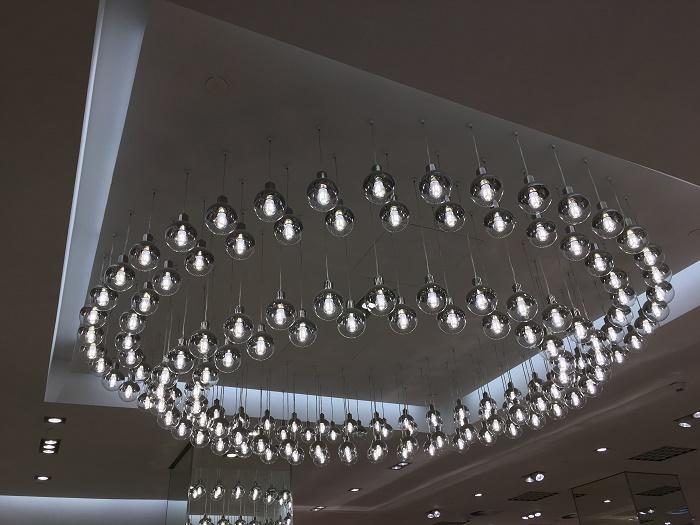 Nové osvětlení vlajkové prodejny, foto: H&M
