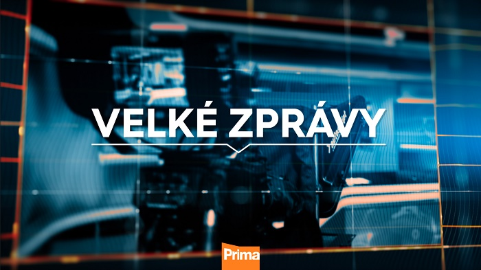 Logo nové hlavní zpravodajské relace Velké zprávy, zdroj: FTV Prima
