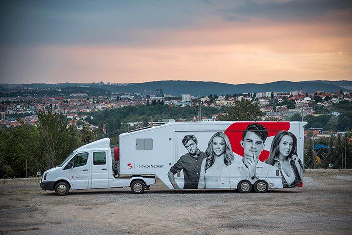 Seznam.cz vyráží s kamionem na roadshow po letních festivalech, foto: Seznam.cz.