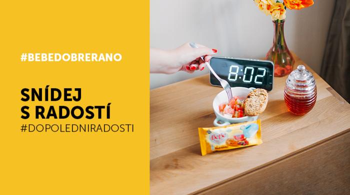 4bf1a873621a BeBe Dobré ráno ve společné kampani se ZOOTem spojuje jídlo a nakupování.