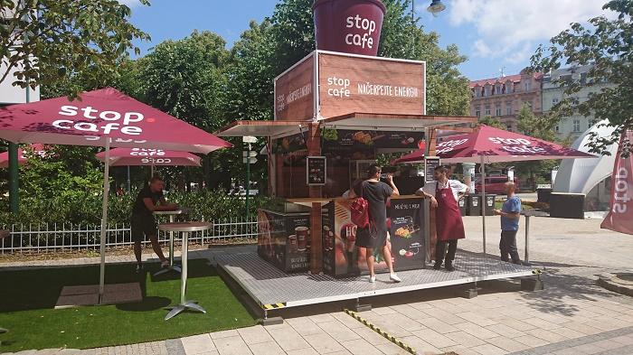 Benzina provozuje v Karlových Varech své Stop Café, foto: Unipetrol.