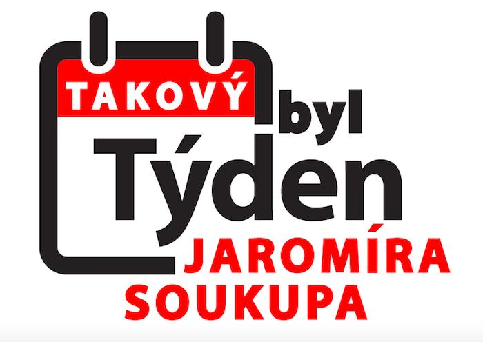 Logo nového pořadu Takový byl týden Jaromíra Soukupa, zdroj: TV Barrandov