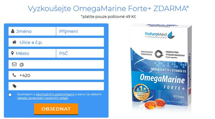 Náhled z webových stránek OmegaMarina Forte+