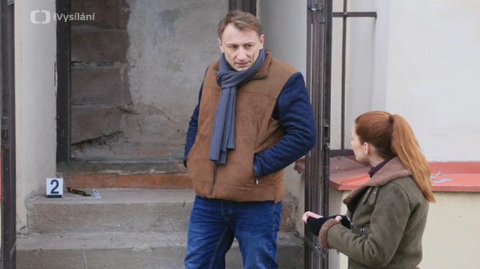 Petr Stach a Denisa Nesvačilová, zdroj: ČT