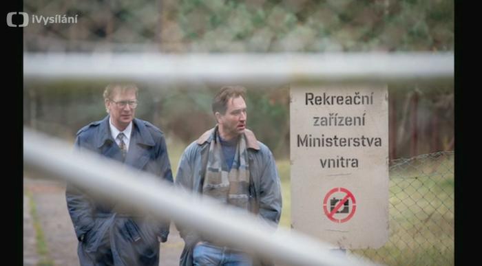 Martin Pechlát a Ondřej Sokol v připravované minisérii Rédl, zdroj: ČT