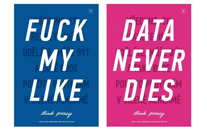 Z projektu #Datamaze, dílo Think Privacy od Adama Harveyho, zdroj: Centrum Dox