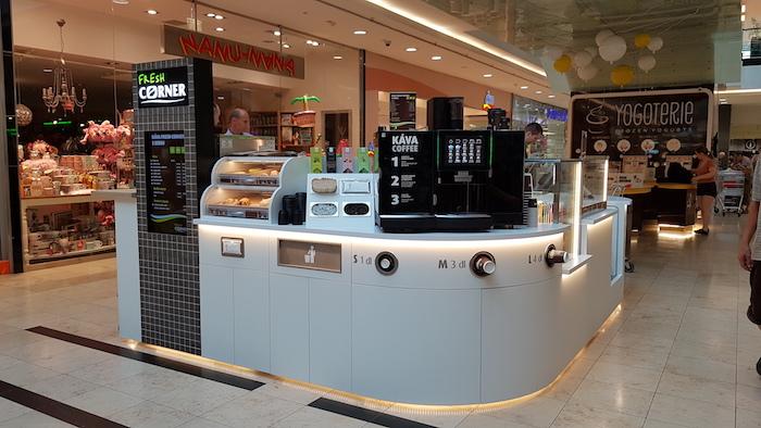 Fresh Corner v obchodním centru Arkády na pražském Pankráci, foto: MOL