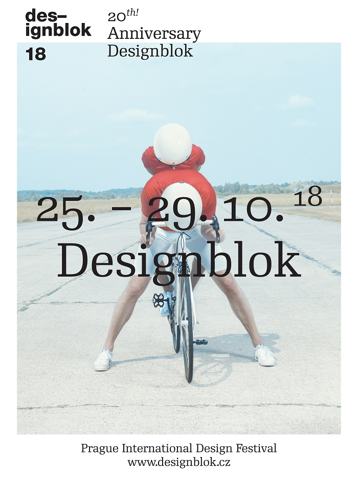 Klíčový vizuál k 20. ročníku Designbloku, zdroj: Designblok
