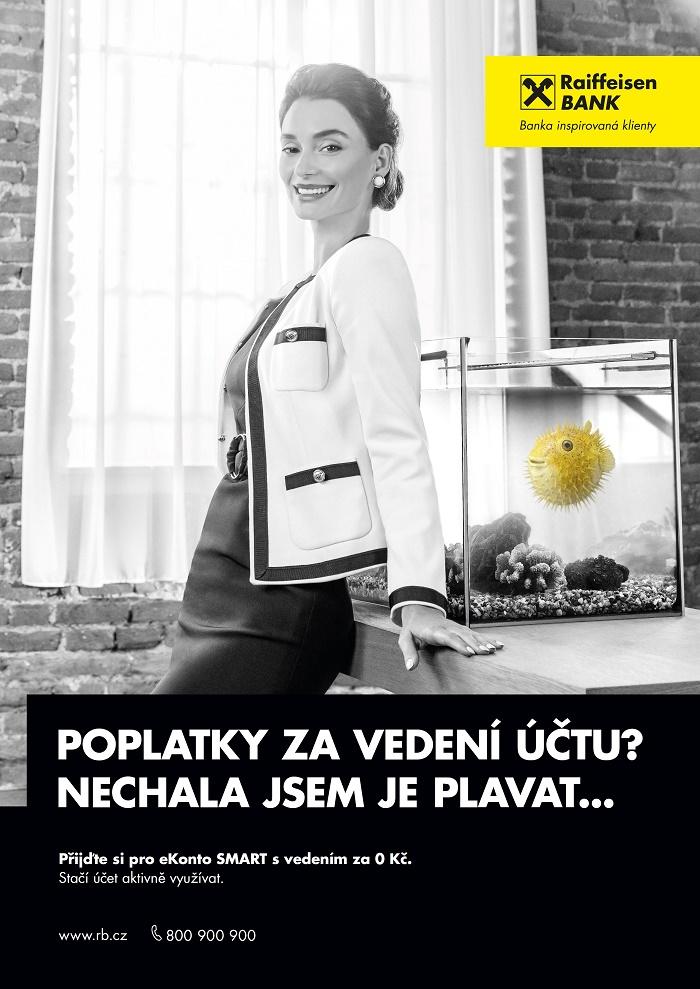 Klíčový vizuál nové kampaně Raiffeisenbank, zdroj: Raiffeisenbank