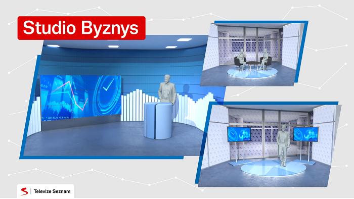 Vizualizace nového byznysového studia. foto: Seznam.cz