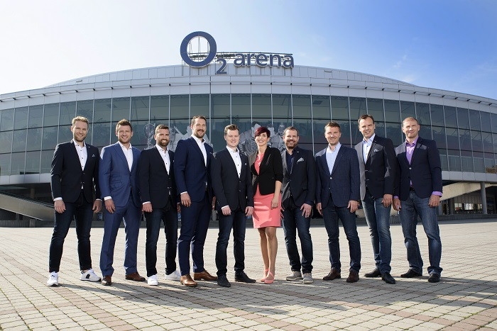 Komentátoři hokejových přenosů O2 TV, foto: O2