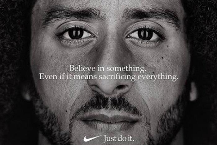 Colin Kaepernick v kampani Nike, zdroj: Nike