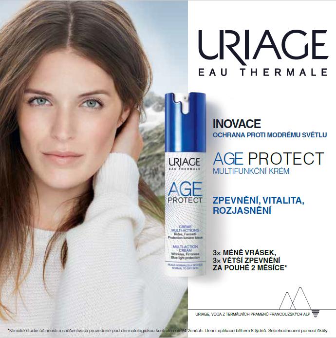 Klíčový vizuál kampaně značky Uriage, zdroj: Dr. Max