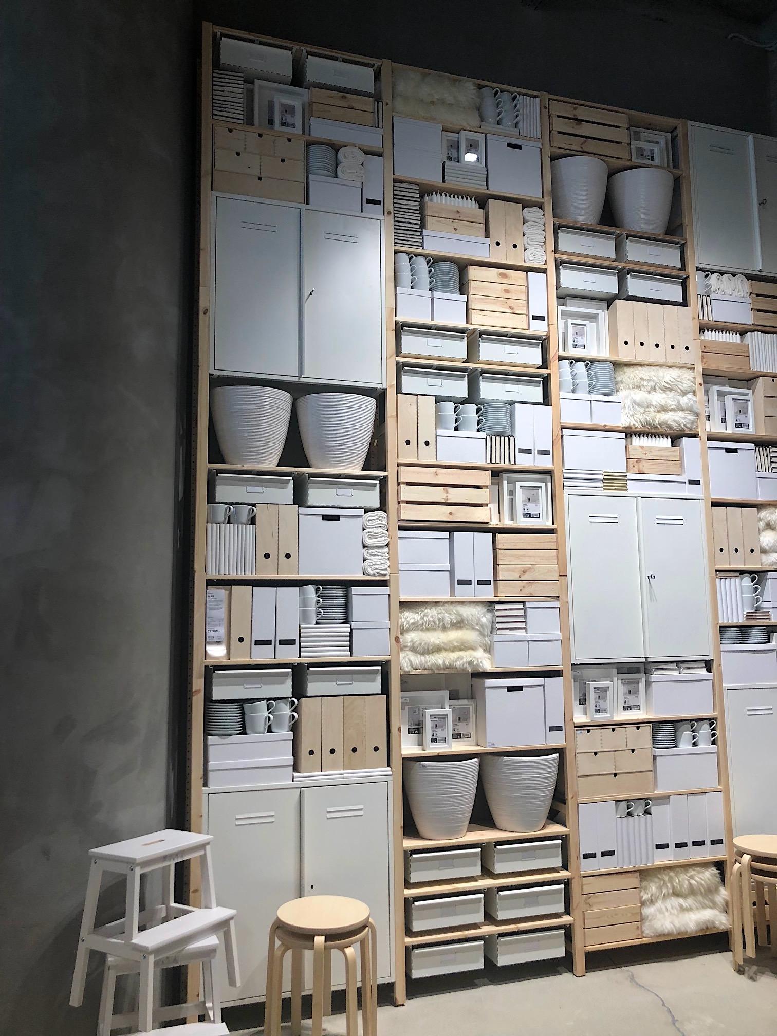 V prostoru s IKEA pohrála i s výškou instalací, Foto: MediaGuru.cz.