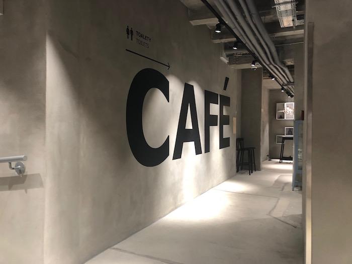 Součástí prostoru je i kavárna, foto: MediaGuru.cz.