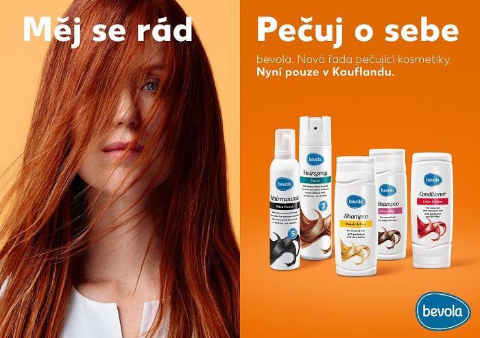 Kaufland uvádí na trh privátní kosmetickou značku bevola, zdroj: Kaufland.