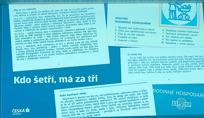 Ukázka straší komunikace České spořitelny