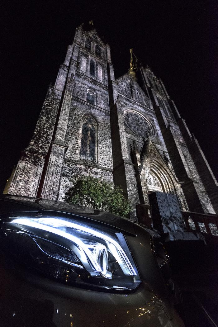 Mercedes-Benz si na festival připraví videomapping na kostel sv. Ludmily, zdroj: Signal.