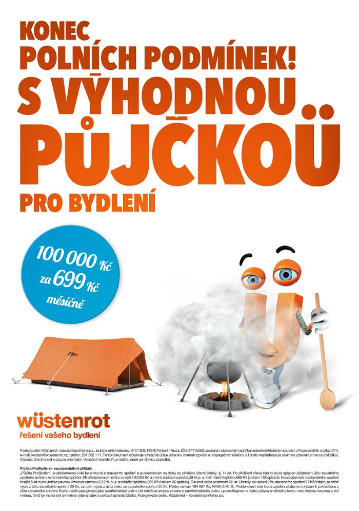 Klíčový vizuál k podzimní kampani finanční skupiny Wüstenrot, zdroj: Wüstenrot