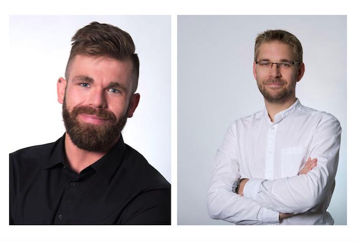 Novým tiskovým mluvčím Vodafonu se stal Marek Steiger (vlevo), jeho zástupcem Ondřej Luštinec (vpravo), foto: Vodafone