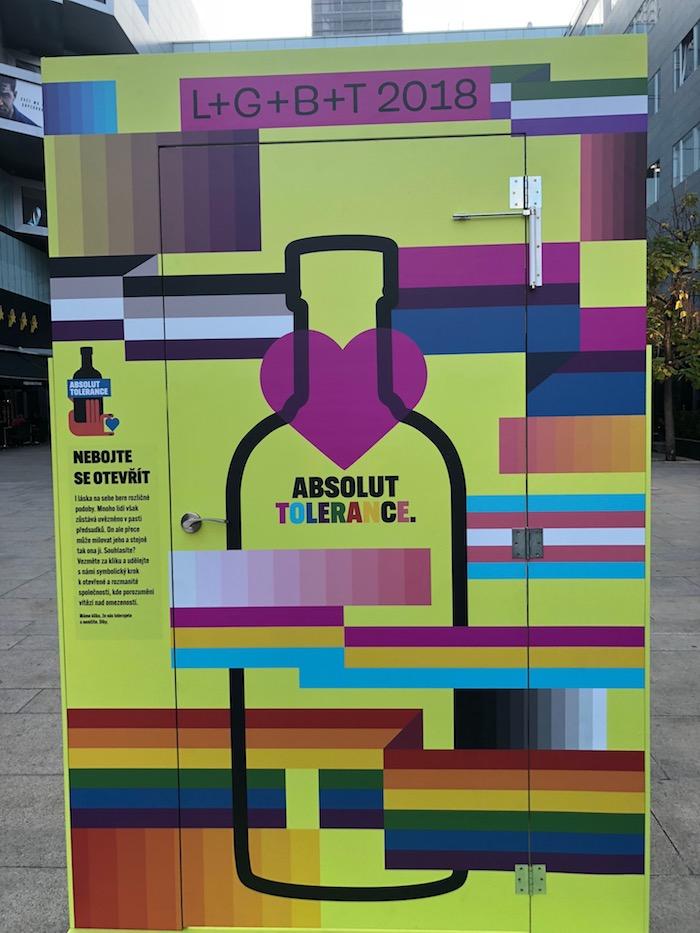 Absolut Tolerance k tématu LGBT, foto: MediaGuru.cz
