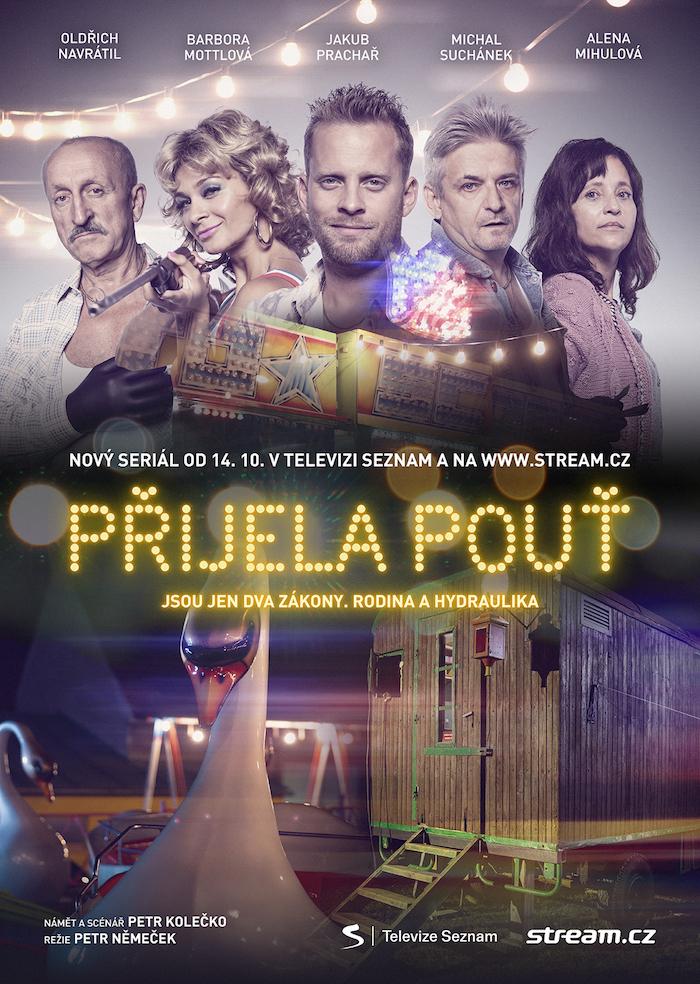 Plakát k seriálu Přijela pouť, zdroj: Stream.cz