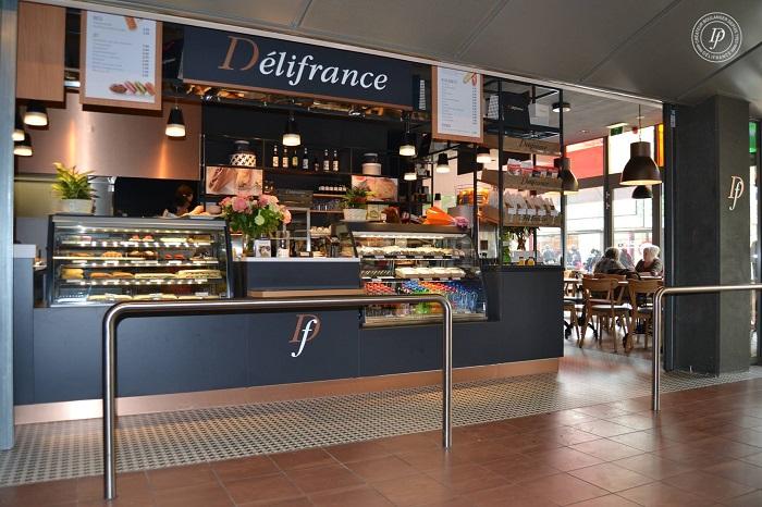 Kavárna s pekárnou Délifrance, zdroj: Délifrance