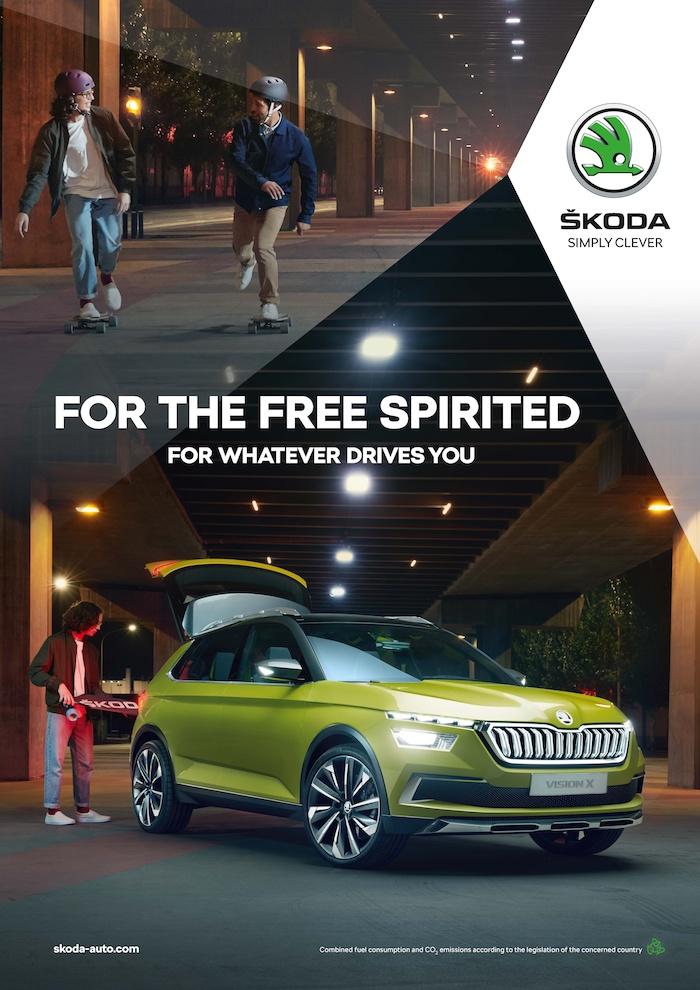 Klíčový vizuál globální kampaně značky Škoda, zdroj: Škoda Auto