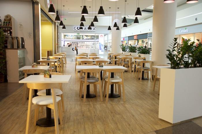 Nákupní centrum Géčko modernizovalo svou restaurační zónu, zdroj: CPI Property Group.