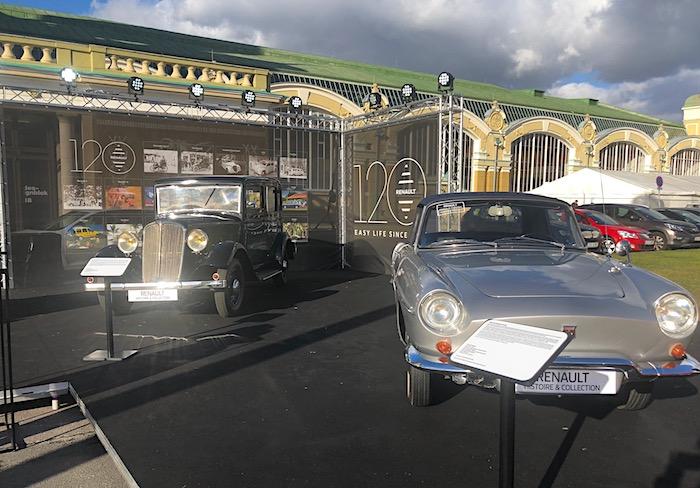 Renault si připomíná 120 let od svého založení, foto: MediaGuru.cz.