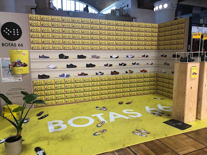 Instalace Botas 66, značky, která slaví 10 let, foto: MediaGuru.cz.