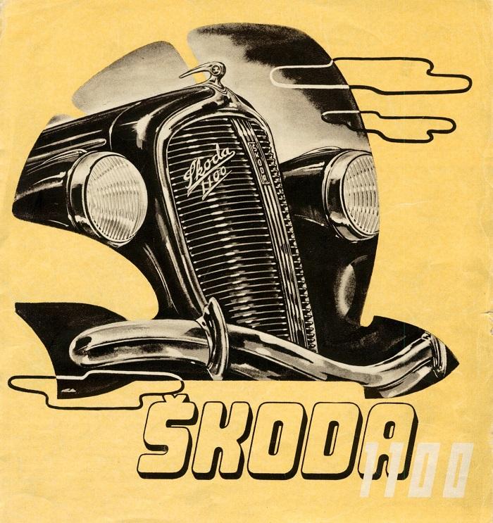 Kromě toho neváhala automobilka investovat i do dobových kampaní, zdroj: Škoda Auto.