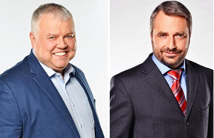 Ladislav Dianiška, Vladimír Pořízek, foto: FTV Prima
