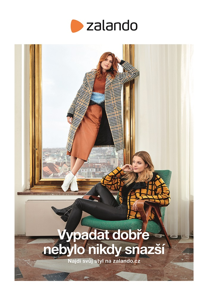 Klíčový vizuál nové kampaně značky Zalando, zdroj: Zalando