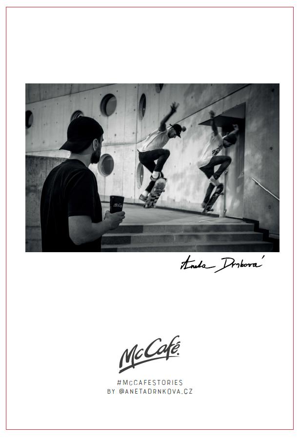 McCafé Stories od Anety Drnkové, zdroj: McDonald's