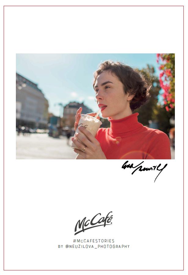 McCafé Stories od Evy Neužilové, zdroj: McDonald's